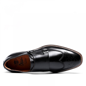 Monk Strap Slip Shoes