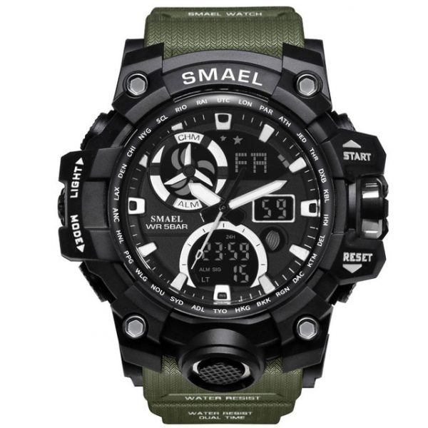 Digital Military Men's Watch