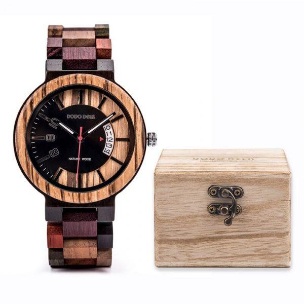 Wooden Watches Quartz Movement