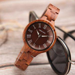 Ladies' Wood Quartz Watch