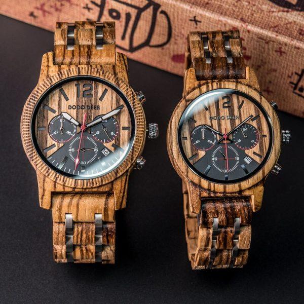 Creative Wooden Quartz Watches