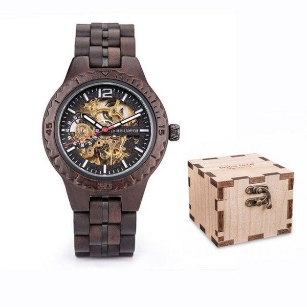 Wooden Mechanical Men's Watch