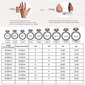 Natural Amethyst Gemstone Rings