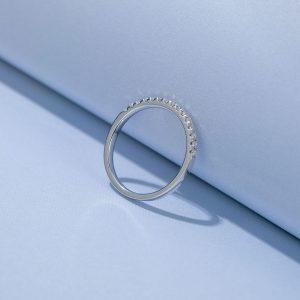 Moissanite Diamond Engagement Ring