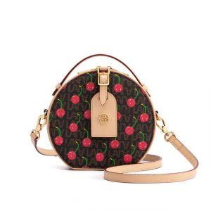 Cherry Round Mini Cake Bag