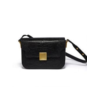 Leather Knight Saddle Bag