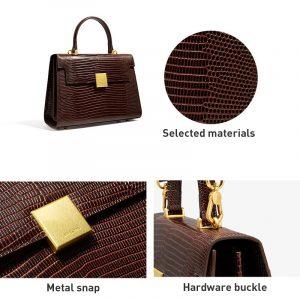 New Retro Leather Portable Bag