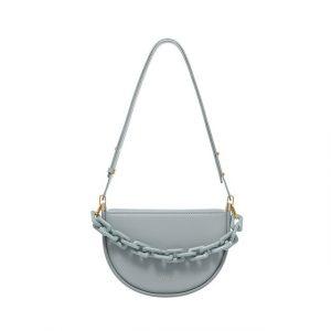 Designer Semicircle Saddle Bag