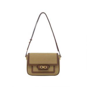 Fashion Underarm Canvas Bag for Women