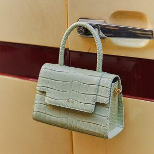Fashion Retro Square Leather Bag