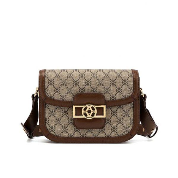 Niche Luxury Female Saddle Bag