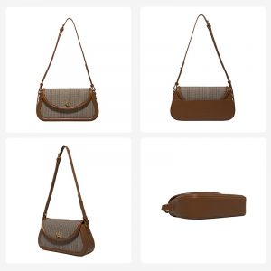 Retro One-shoulder Messenger Bag