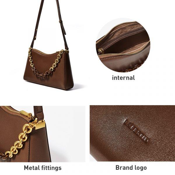 Fashion Underarm Baguette Bag