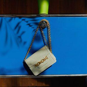 Mini Messenger Chain Belt Bag