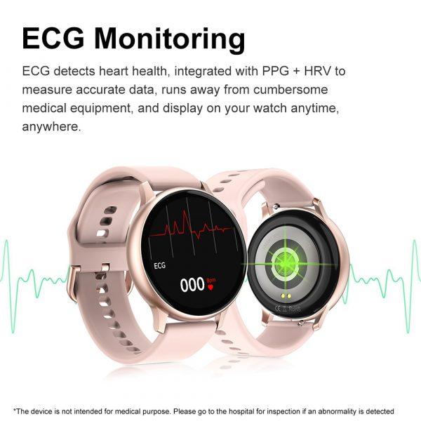 ECG Heart Rate Monitor Watch