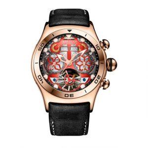 Luxury Automatic Skeleton Watch