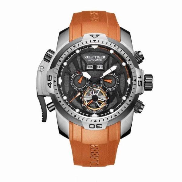 Big Steel Case Watch Waterproof