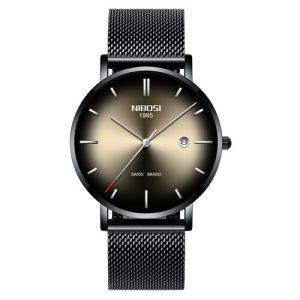 Thin Mesh Belt Quartz Watch