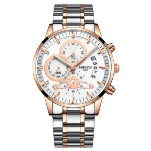 Waterproof Military Quartz Wristwatch