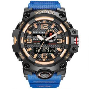 LED Men's Military Wristwatch