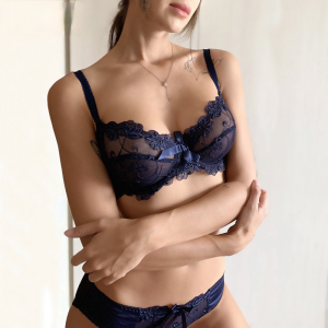 Fashion Embroidery Bras Underwear