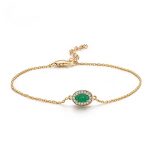 Gold Shiny Diamond Bracelet