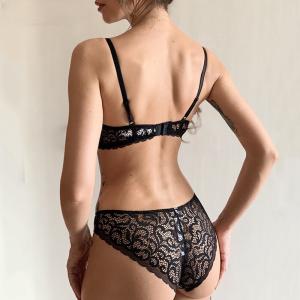 Classic Black Underwear Set