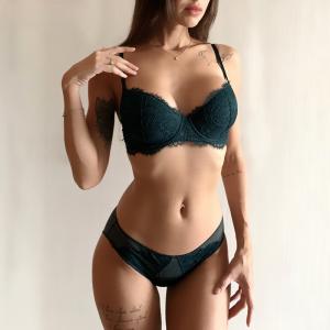 Thin Cotton Underwear Set