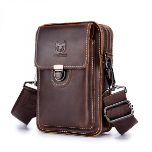 Leather Male Waist Pack