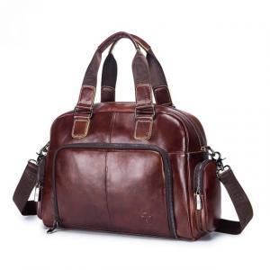 Men's Fashion Leather Briefcase