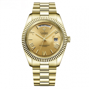 New Automatic Gold Watch