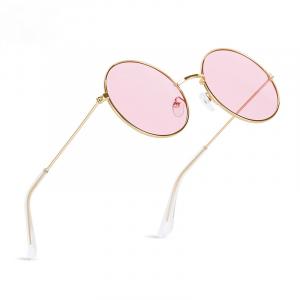 Vintage Metal Round Sunglasses