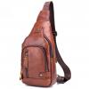 Leather Men's Chest Pocket