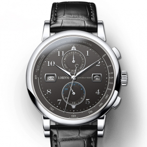 Men's Leather Business Watch
