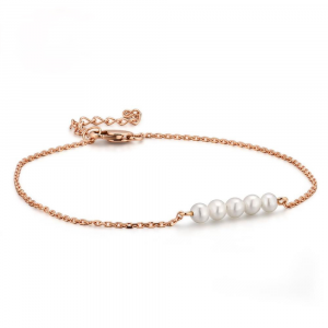 Genuine Rose Gold Bracelet