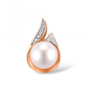 Diamond Rose Gold Pendant