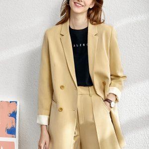Minimalism Spring Suit Female