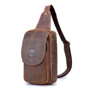 Men's Crossbody Leather Bag