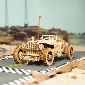 Classic DIY Movable 3D Car