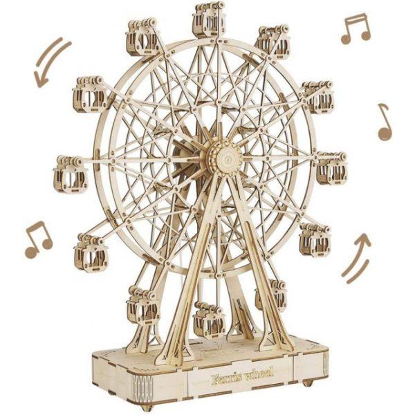 Rotatable DIY 3D Ferris Wheel