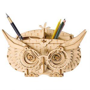 DIY 3D Wooden Animal & Building