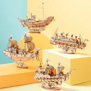 DIY Vintage Sailing Ship