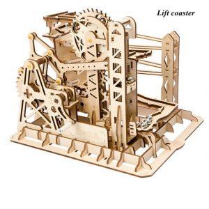 Marble Run DIY Waterwheel Toy