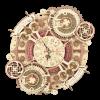 Time Art Zodiac Wall Clock