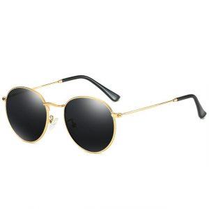 Luxury Round Polarized Sunglasses