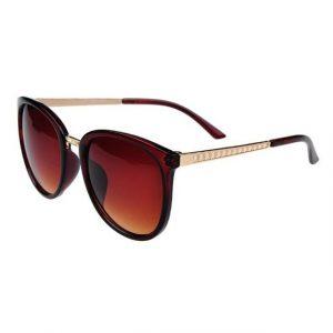 Fashion Retro Round Sun Glasses