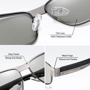 Square Photochromic Sunglasses