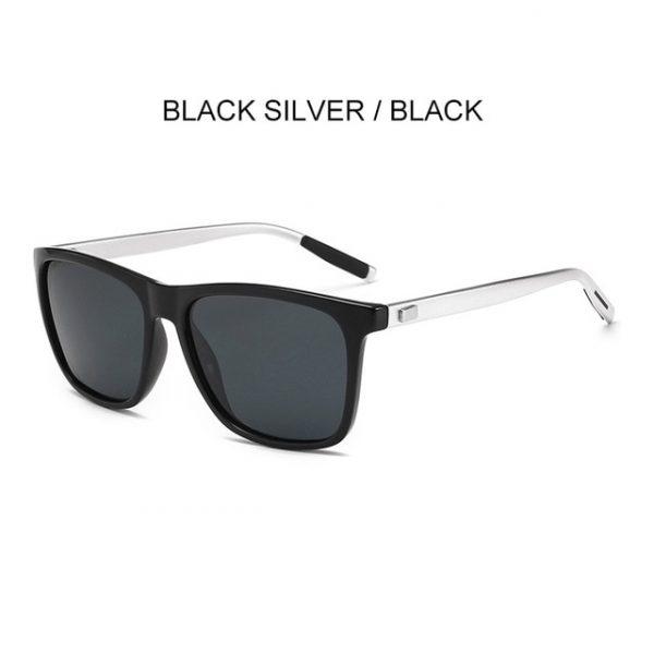 Driver's Mirror Square Sunglasses