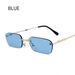 Small Rimless Women's Sunglasses