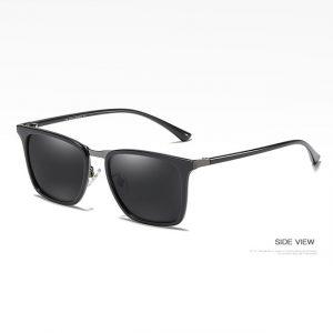 Retro Anti-glare Square Sunglasses